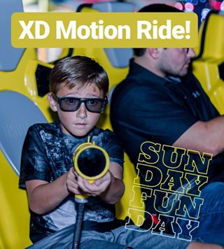 #SundayFunday  at #Cinergy with our XD Motion rode at select locations!  www.Cinergy.com/Play